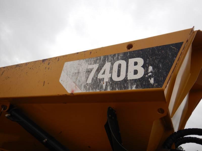 CATERPILLAR ARTICULATED TRUCKS 740B equipment  photo 22