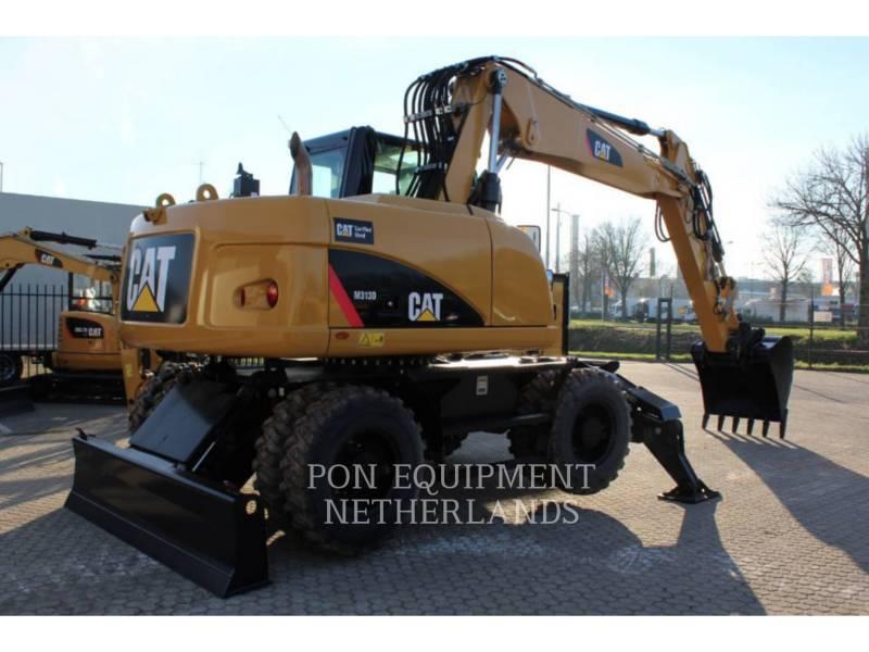 Caterpillar EXCAVATOARE PE ROŢI M313D equipment  photo 3