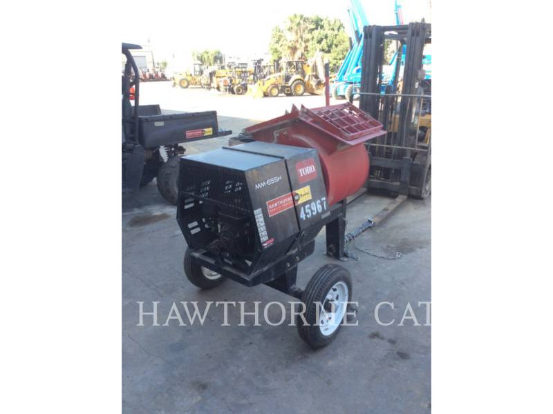 TORO EQUIPO PARA CONCRETO MIXER MTR equipment  photo 1