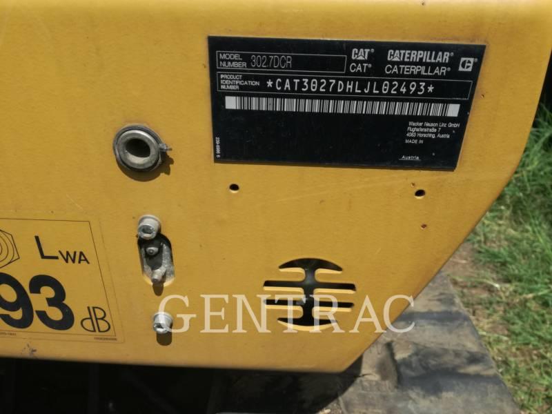 CATERPILLAR RUPSGRAAFMACHINES 302.7DCR equipment  photo 1