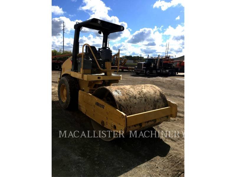 CATERPILLAR COMPACTEUR VIBRANT, MONOCYLINDRE LISSE CS-433E equipment  photo 2