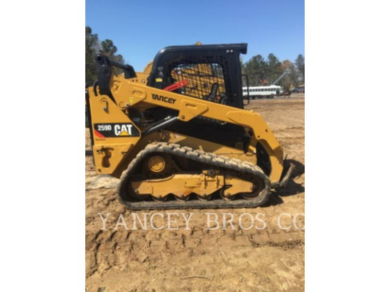 CATERPILLAR SKID STEER LOADERS 259D OR WT equipment  photo 1