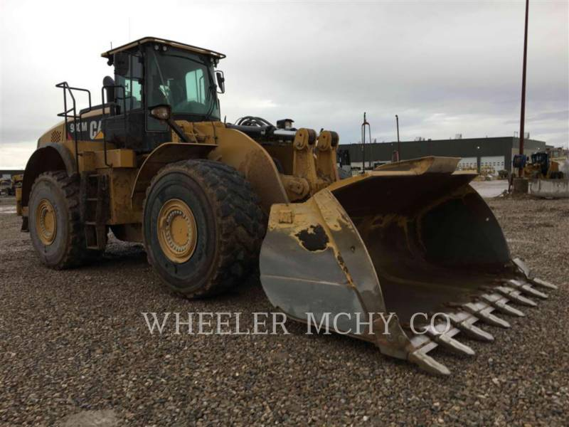 CATERPILLAR CARGADORES DE RUEDAS 980M AOR T equipment  photo 2