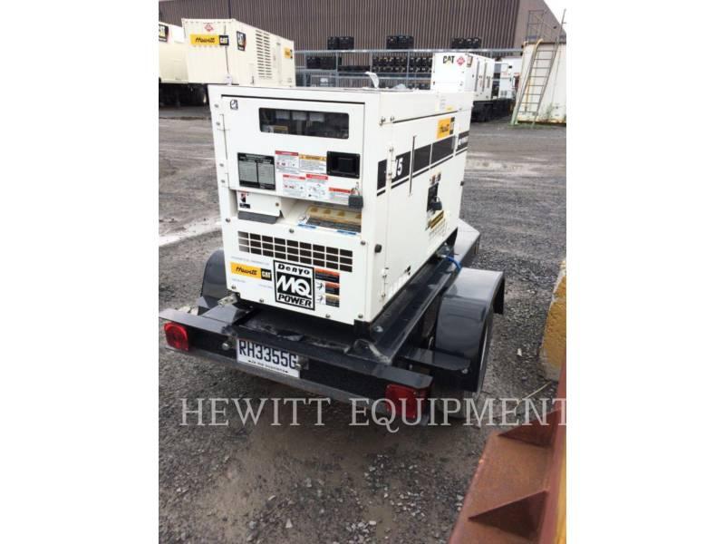 MULTIQUIP PORTABLE GENERATOR SETS XQ15 equipment  photo 1
