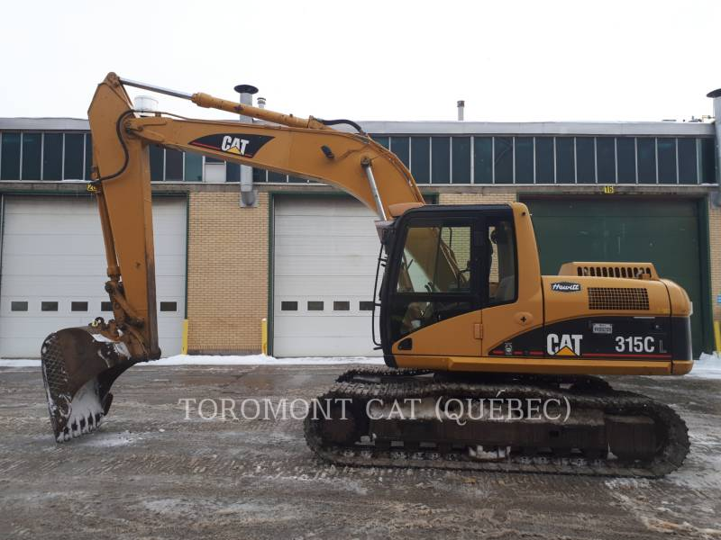 CATERPILLAR PELLES SUR CHAINES 315CL equipment  photo 1