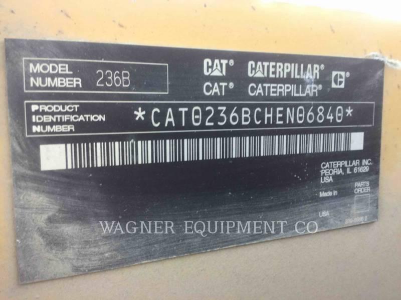 CATERPILLAR スキッド・ステア・ローダ 236B2 equipment  photo 6