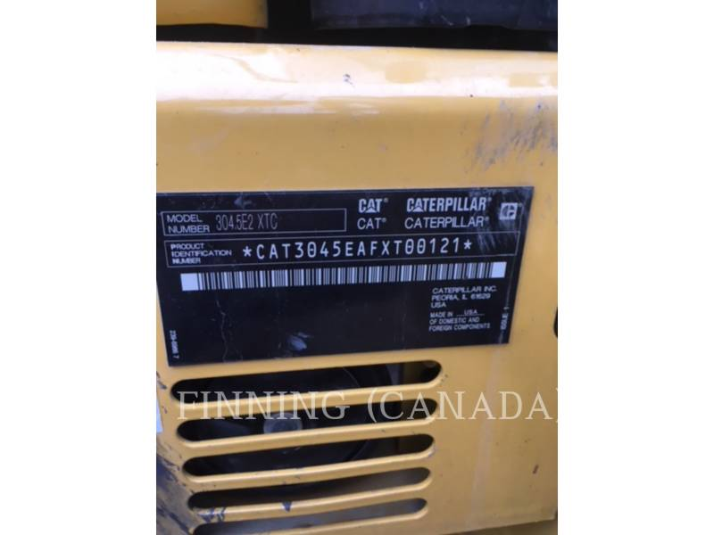 CATERPILLAR EXCAVADORAS DE CADENAS 304.5E2XTC equipment  photo 6