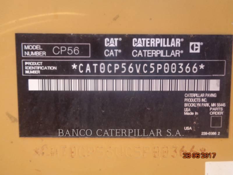 CATERPILLAR SOPORTE DE TAMBOR ÚNICO VIBRATORIO CP56 equipment  photo 5