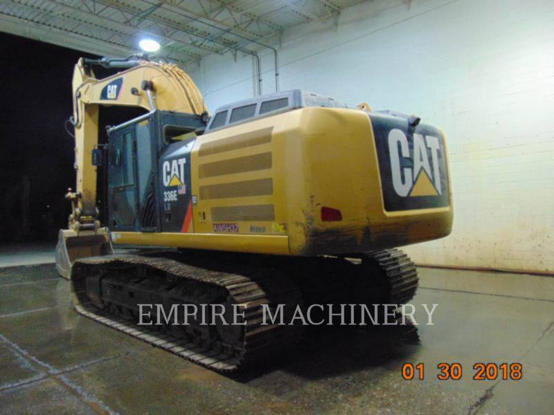 CATERPILLAR KETTEN-HYDRAULIKBAGGER 336ELH equipment  photo 4