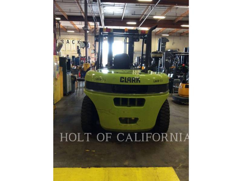 CLARK FORKLIFTS C70D equipment  photo 2