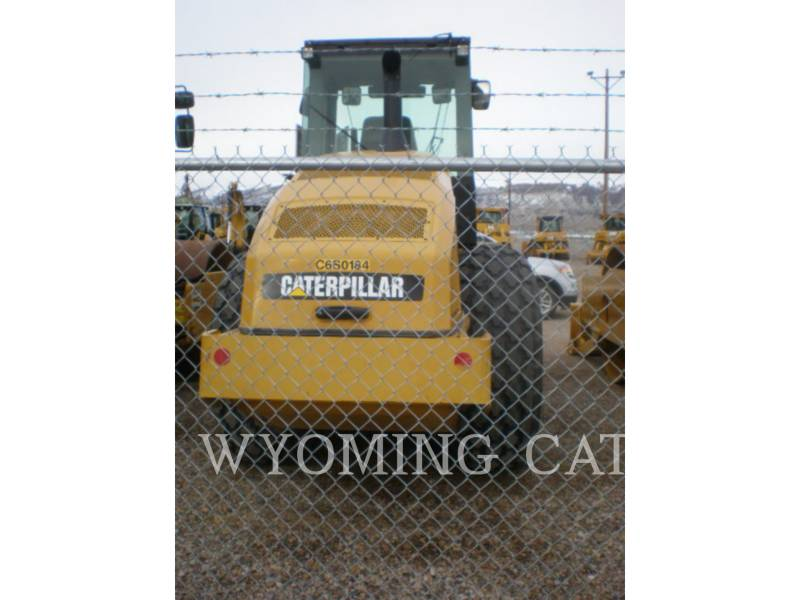 CATERPILLAR VIBRATORY SINGLE DRUM SMOOTH CS64 equipment  photo 2