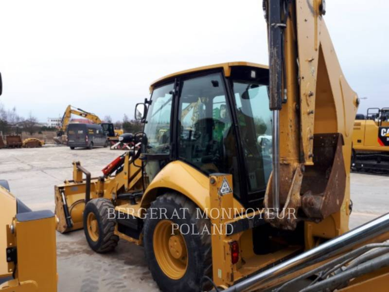 CATERPILLAR CHARGEUSES-PELLETEUSES 428F equipment  photo 6