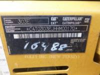 CATERPILLAR ESCAVADEIRAS 303ECR equipment  photo 5