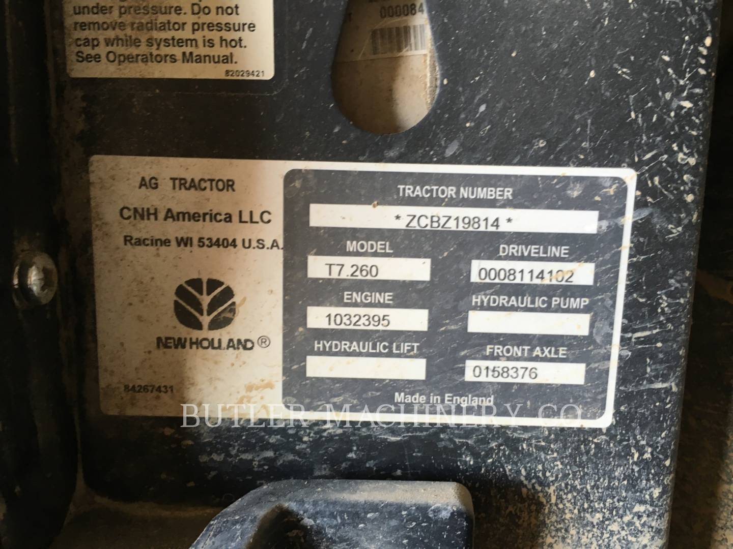 Detail photo of 2013 Ford T7.260 from Construction Equipment Guide