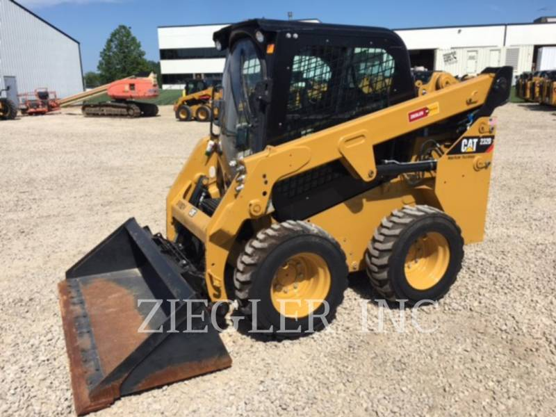 CATERPILLAR KOMPAKTLADER 232DW equipment  photo 1