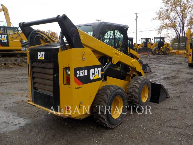 CATERPILLAR MINICARGADORAS 262D equipment  photo 7