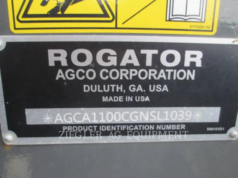 AG-CHEM PULVÉRISATEUR RG1100B equipment  photo 15