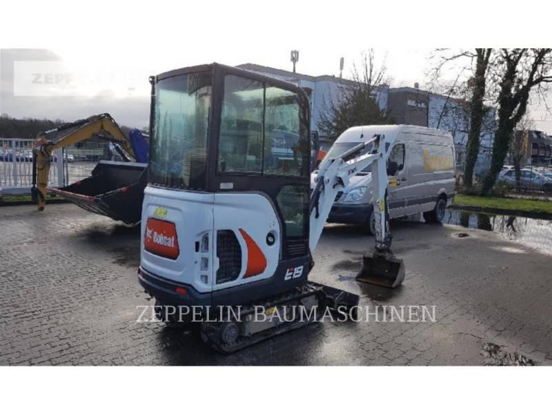 BOBCAT トラック油圧ショベル E19 equipment  photo 3