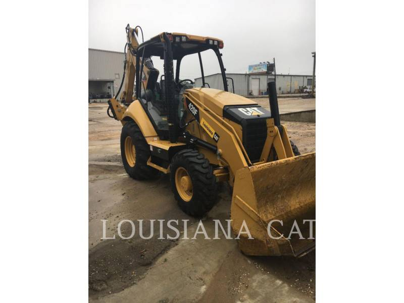 CATERPILLAR BACKHOE LOADERS 420F LAGSO equipment  photo 1