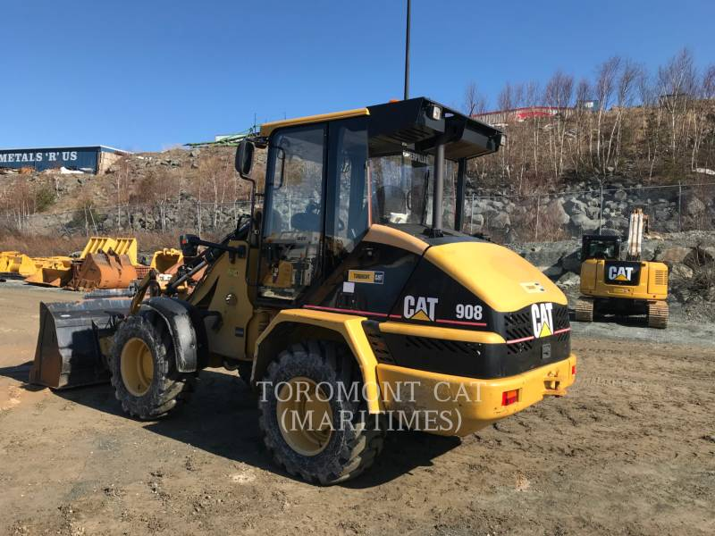 CATERPILLAR WHEEL LOADERS/INTEGRATED TOOLCARRIERS 908 equipment  photo 1