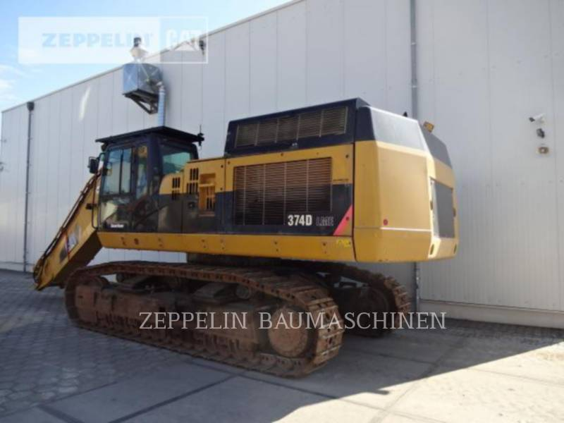 CATERPILLAR KOPARKI GĄSIENICOWE 374DL equipment  photo 3