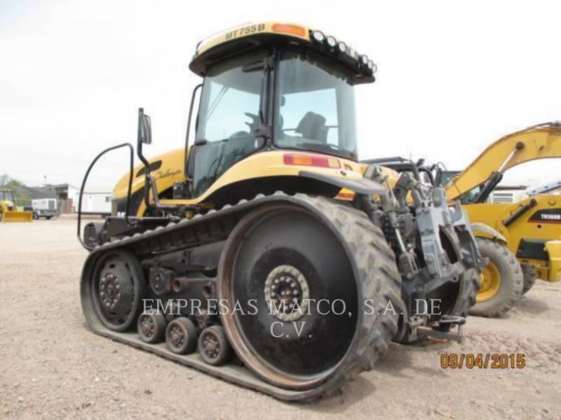 AGCO-CHALLENGER AG TRACTORS MT755B equipment  photo 6