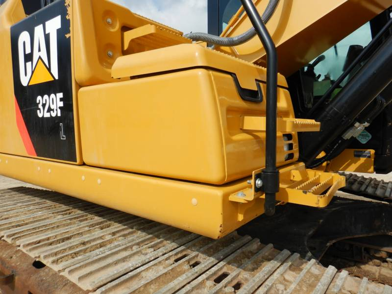 CATERPILLAR TRACK EXCAVATORS 329 F L equipment  photo 21