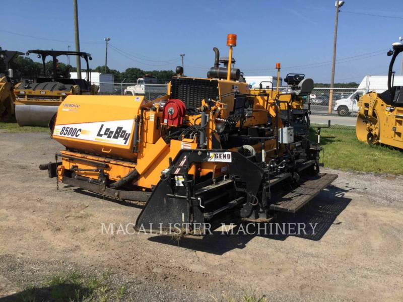 LEE-BOY ASPHALT PAVERS 8500C equipment  photo 3