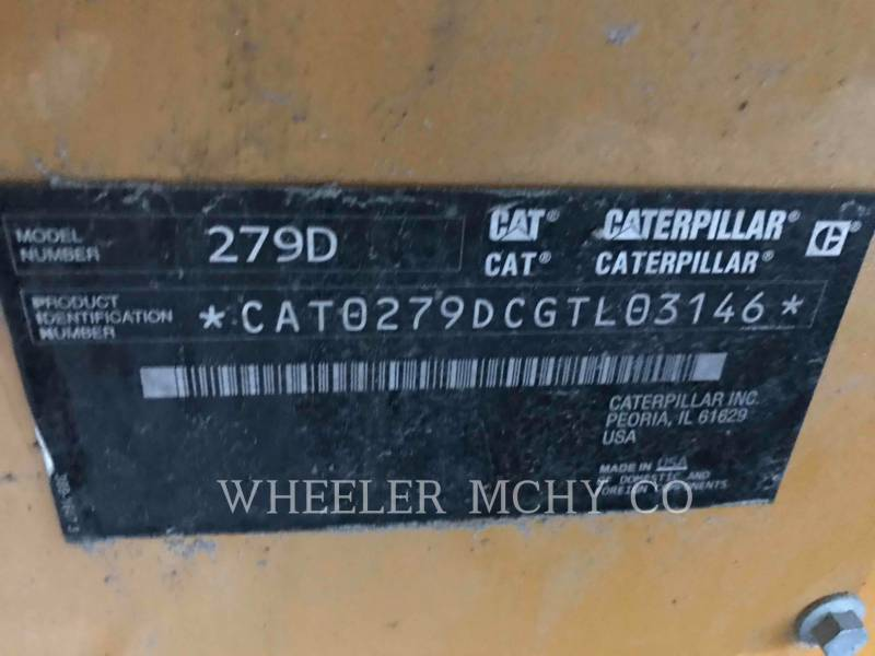 CATERPILLAR CHARGEURS TOUT TERRAIN 279D C3-H2 equipment  photo 9