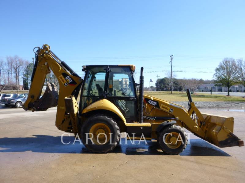 CATERPILLAR BACKHOE LOADERS 420F CB equipment  photo 5