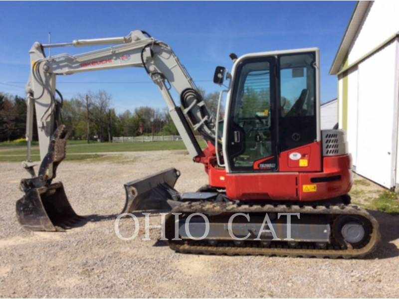 TAKEUCHI MFG. CO. LTD. EXCAVADORAS DE CADENAS TB280FR equipment  photo 1