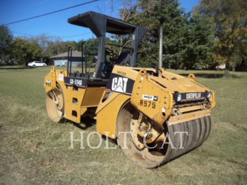 CATERPILLAR VIBRATORY DOUBLE DRUM ASPHALT CB-534D equipment  photo 4