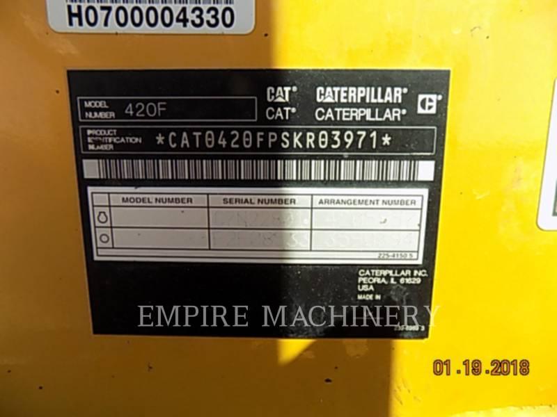 CATERPILLAR RETROEXCAVADORAS CARGADORAS 420FST equipment  photo 16