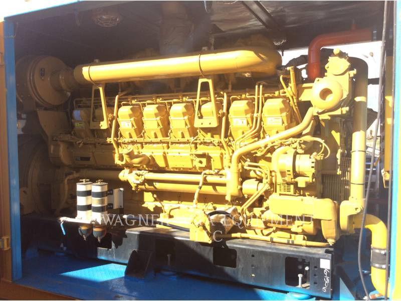 GENSET STATIONARY GENERATOR SETS CAT3516B equipment  photo 9
