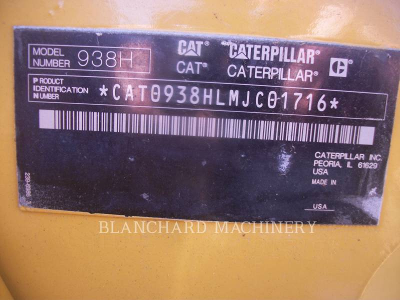 CATERPILLAR PALE GOMMATE/PALE GOMMATE MULTIUSO 938H equipment  photo 11