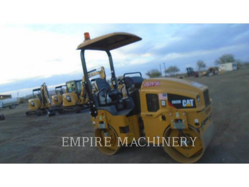 CATERPILLAR VIBRATORY DOUBLE DRUM ASPHALT CB22B equipment  photo 1