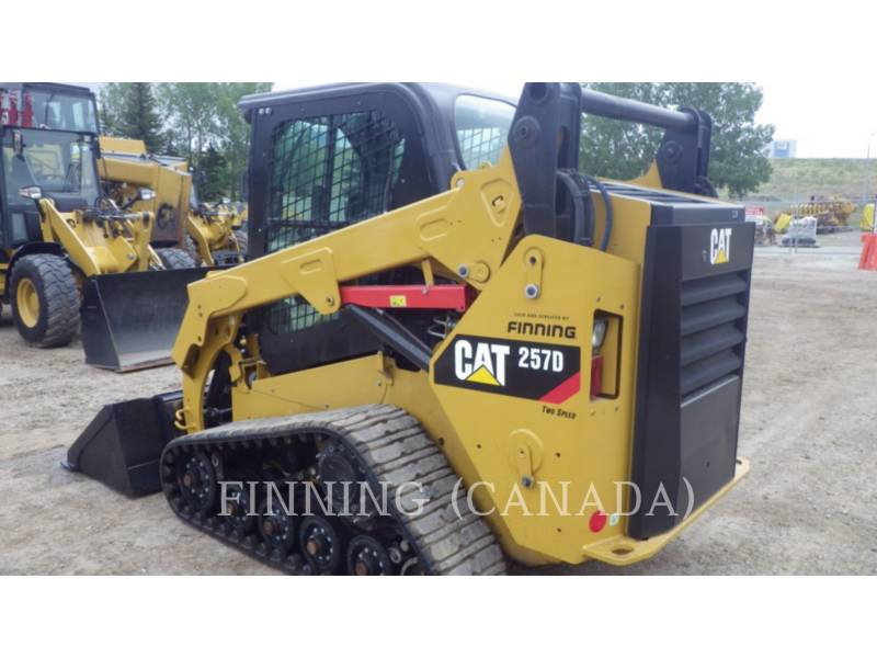 CATERPILLAR CARGADORES MULTITERRENO 257DLRC equipment  photo 4