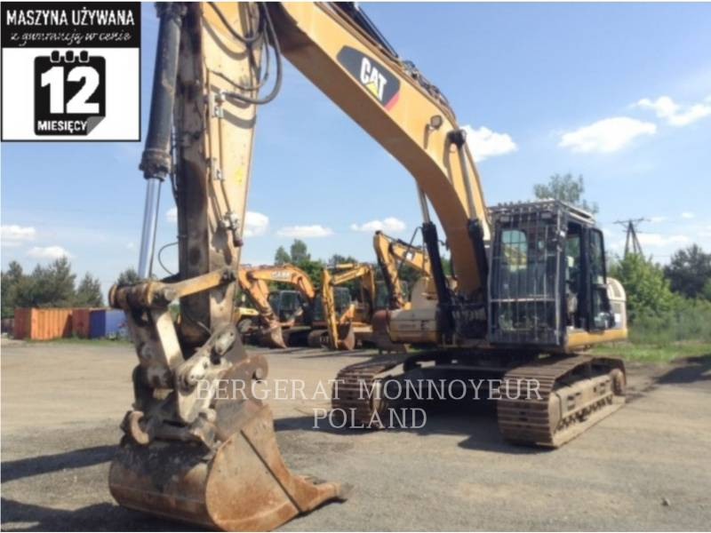 CATERPILLAR KOPARKI GĄSIENICOWE 329DLN equipment  photo 1
