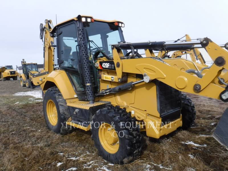 CATERPILLAR BACKHOE LOADERS 420F24ETCB equipment  photo 3