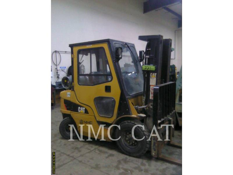CATERPILLAR LIFT TRUCKS EMPILHADEIRAS 2P5000 equipment  photo 1
