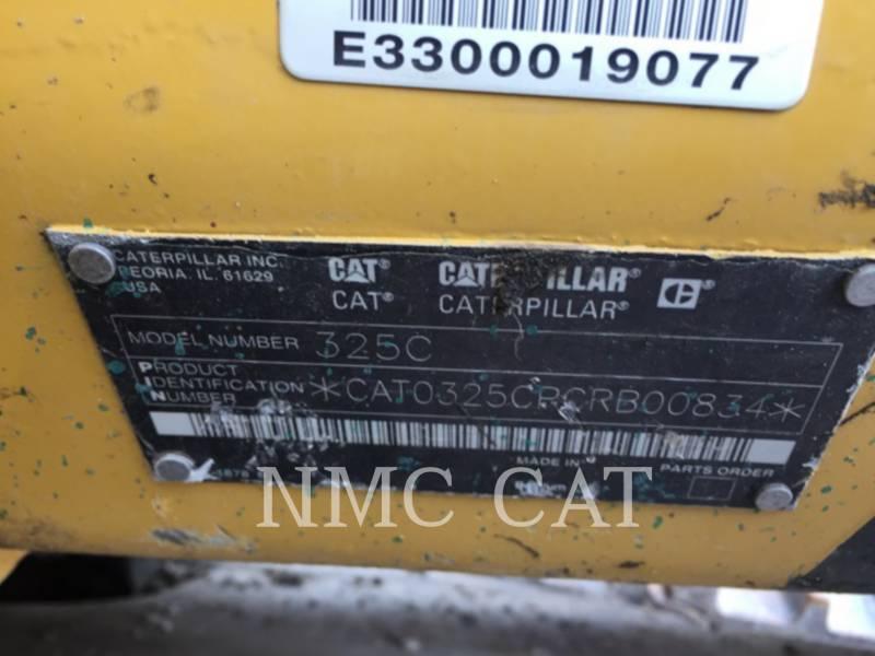 CATERPILLAR PELLES SUR CHAINES 325CL equipment  photo 6