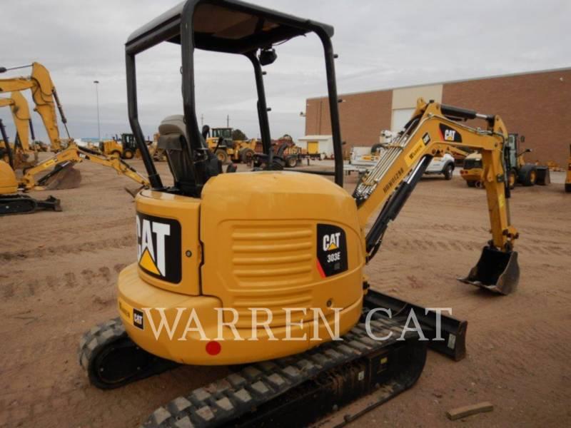CATERPILLAR トラック油圧ショベル 303E CR equipment  photo 4