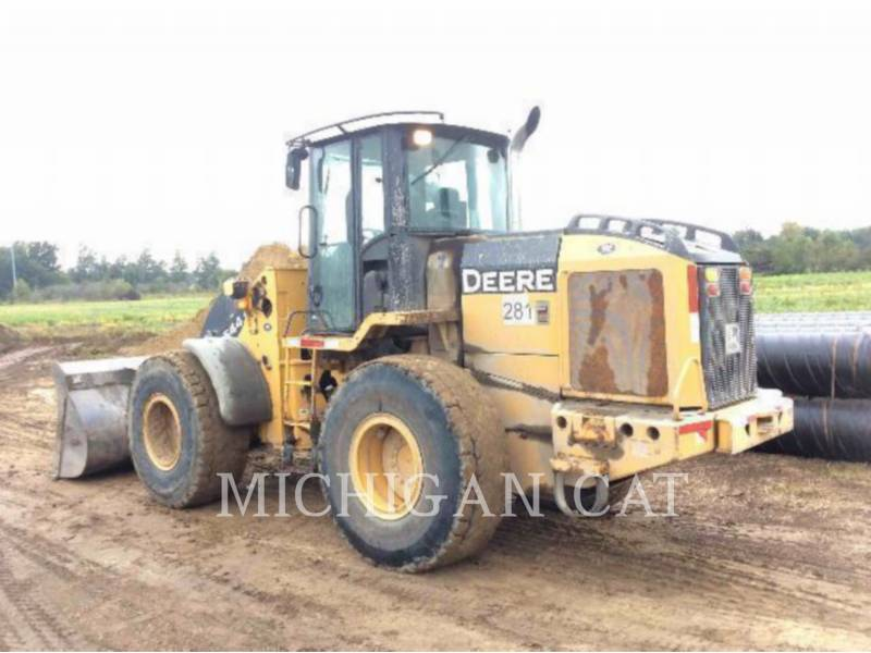 JOHN DEERE CARGADORES DE RUEDAS 544J equipment  photo 3