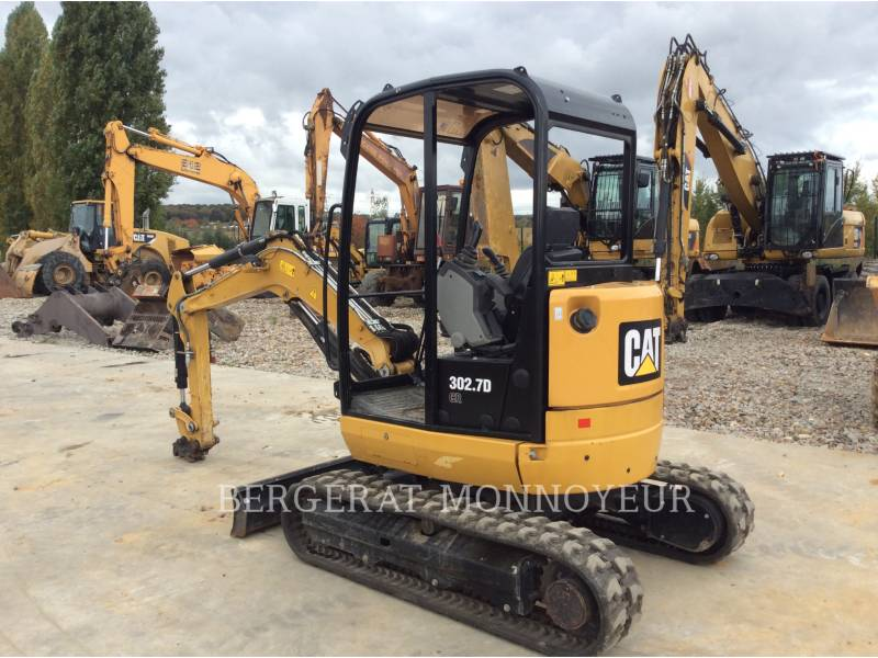 CATERPILLAR ESCAVADEIRAS 302.7D CR equipment  photo 2