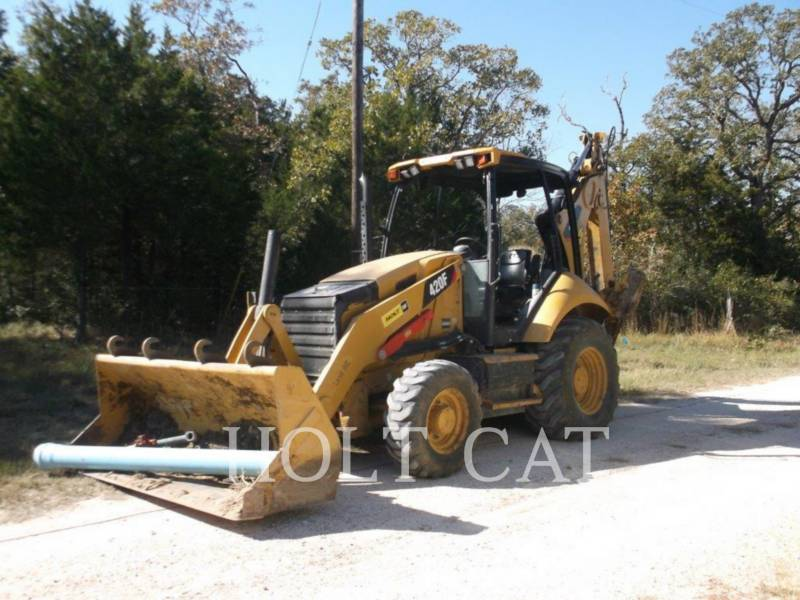 CATERPILLAR BACKHOE LOADERS 420F 4E equipment  photo 1