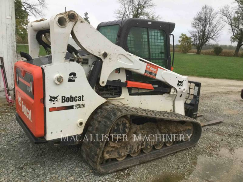 BOBCAT CHARGEURS SUR CHAINES T740 equipment  photo 3
