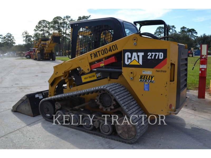 CATERPILLAR MULTI TERRAIN LOADERS 277D equipment  photo 3