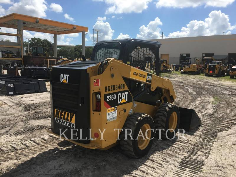 CATERPILLAR SKID STEER LOADERS 236 D equipment  photo 5