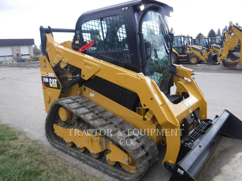 CATERPILLAR MINICARGADORAS 259D H2CB equipment  photo 5