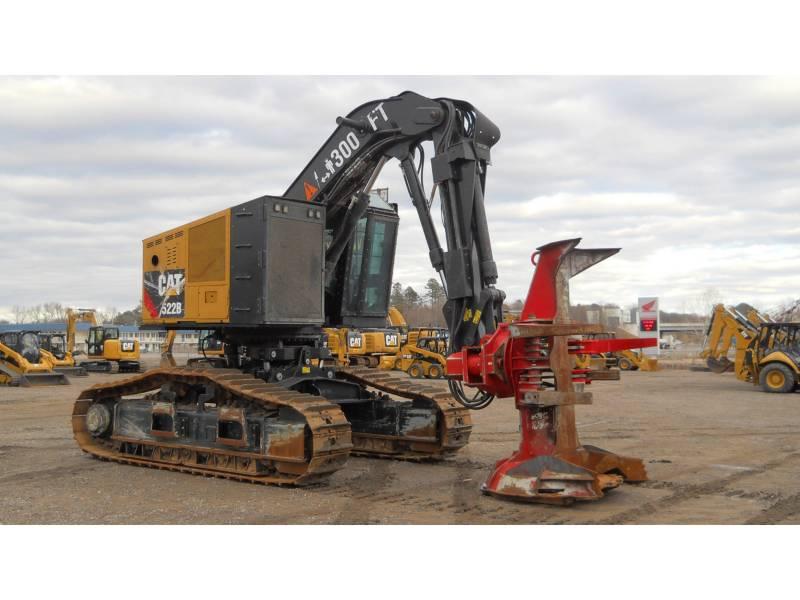 CATERPILLAR 林業 - フェラー・バンチャ - トラック 522B equipment  photo 7